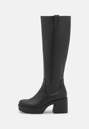 SADIE BOOT VEGAN - Platform boots - black dark