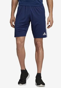 adidas Performance - TIRO 19 AEROREADY PRIMEGREEN SHORTS - Sports shorts - blue - 0