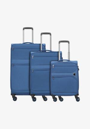 3SET - Luggage set - blue