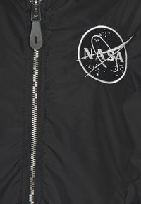 Alpha Industries - NASA VOYAGER - Bomber Jacket - black - 3