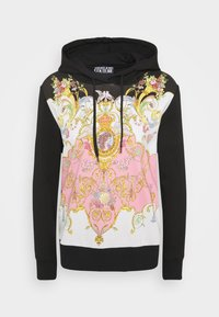 Versace Jeans Couture - LADY LIGHT - Mikina - black/pink confetti - 5