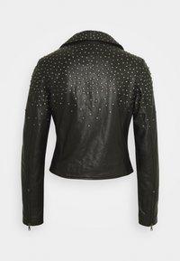 Ibana - BRENN - Leather jacket - black - 1