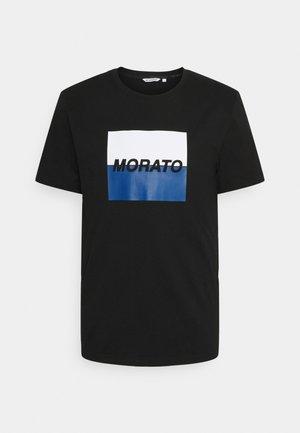 SLIM FIT WITH LOGO  - Print T-shirt - nero