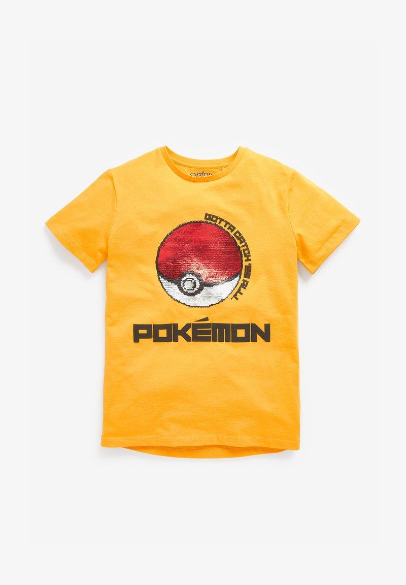 Next - Print T-shirt - yellow