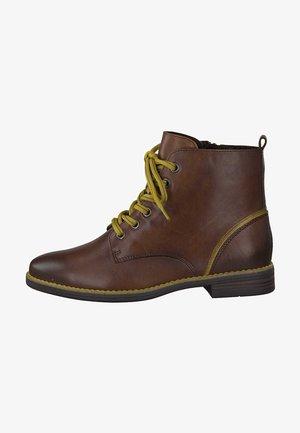 Lace-up ankle boots - cognac ant.com 372