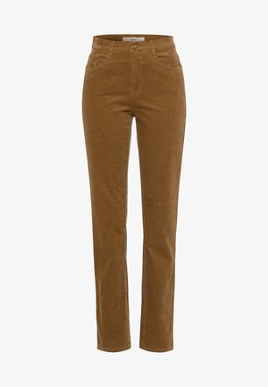 STYLE CAROLA - Trousers - brown