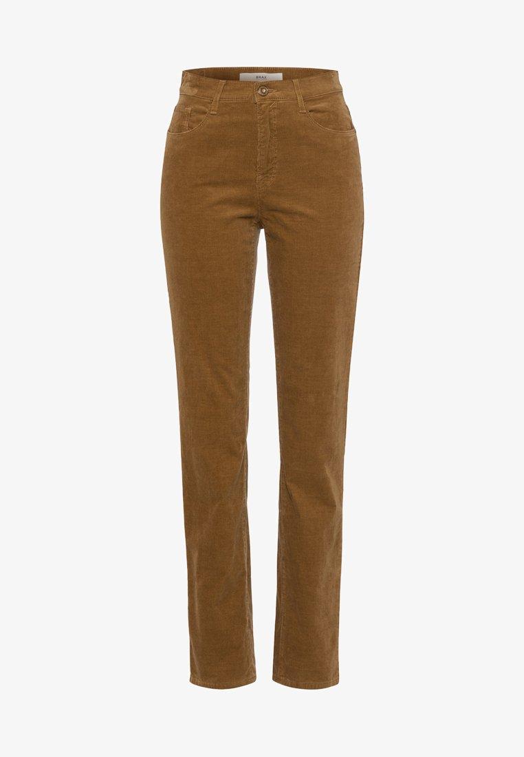 BRAX - STYLE CAROLA - Trousers - brown