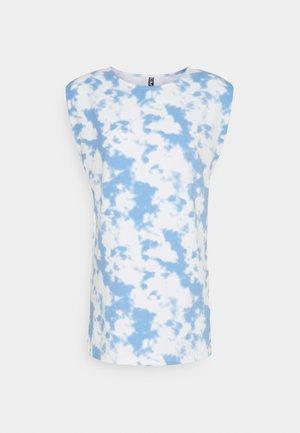 PCTABBI - Print T-shirt - vista blue