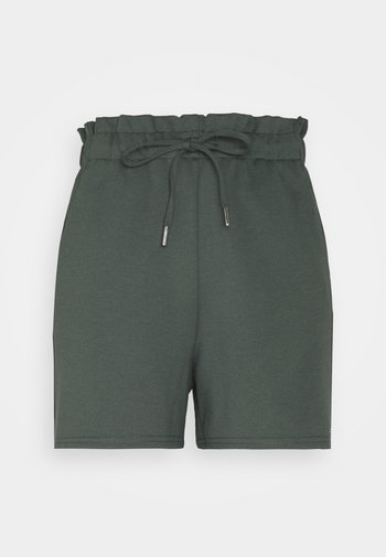 Shorts - dusty pine green