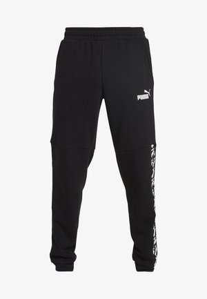 AMPLIFIED  - Tracksuit bottoms - puma black