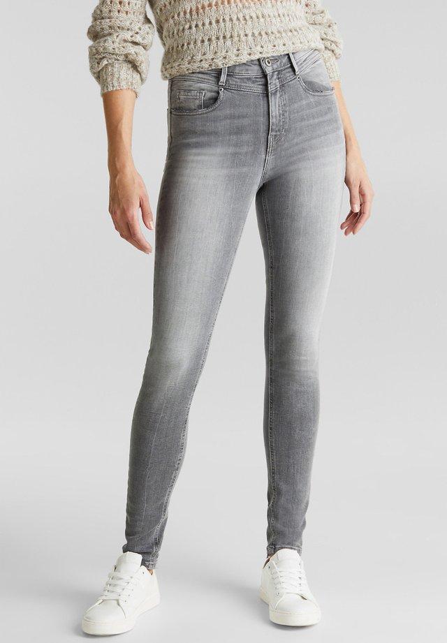 Jeans Skinny Fit - black light washed