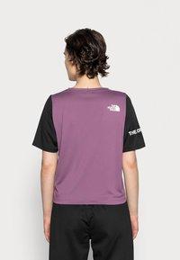 The North Face - Print T-shirt - pikes purple/black - 2