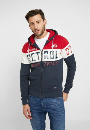 NORMAL FIT - Sweatjacke - fire red