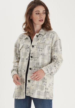 Short coat - antique graphic mix