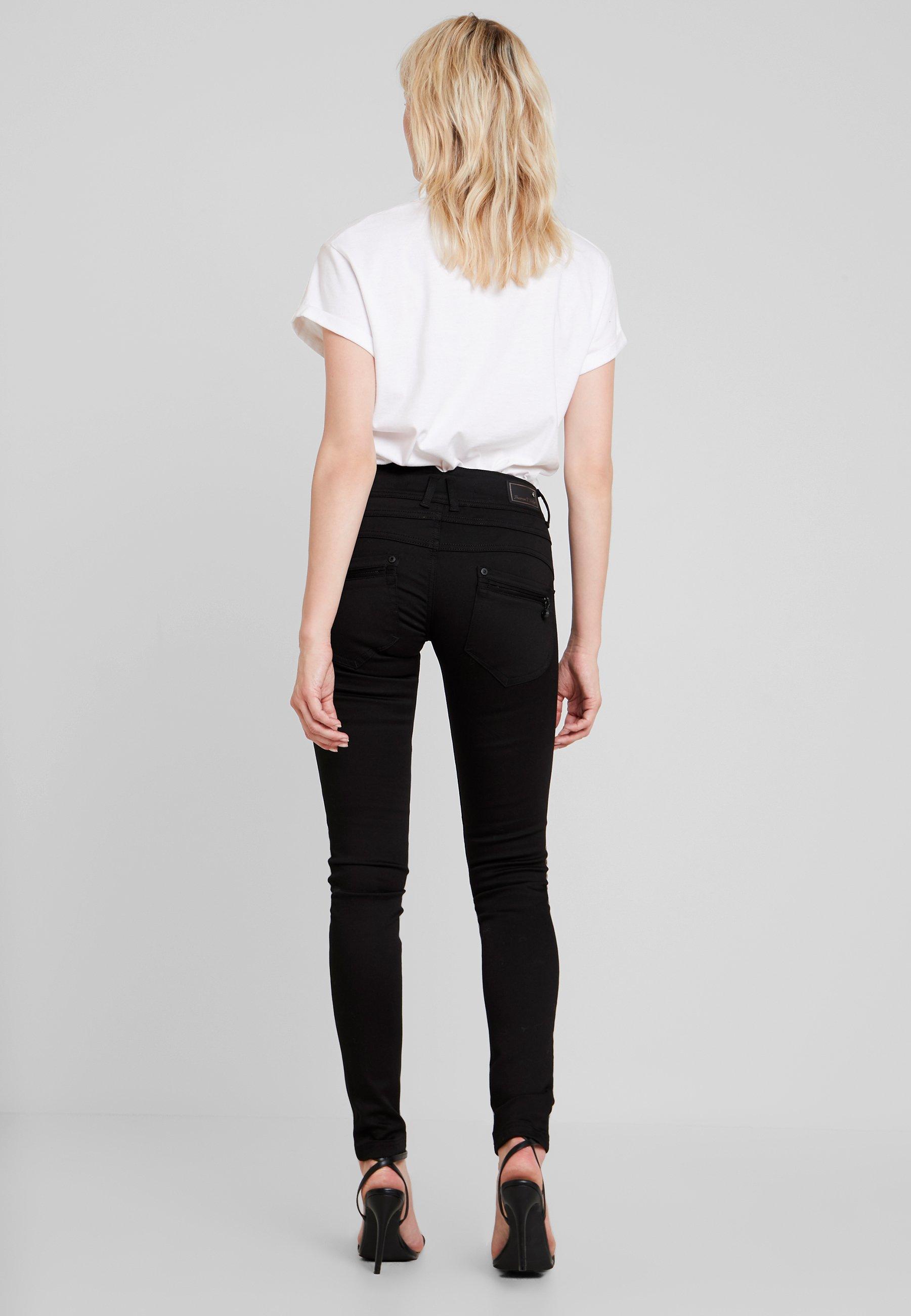Freeman T. Porter COREENA - Jean slim - stay dark - Jeans Femme 8f48Z