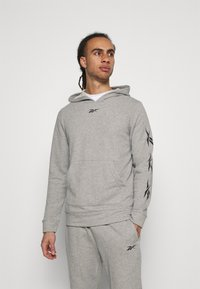 Reebok - VECTOR TRACKSUIT - Trainingspak - grey - 0