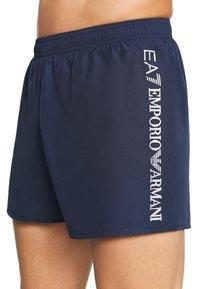 EA7 Emporio Armani - SEA WORLD LOGO - Swimming shorts - navy/silver - 3