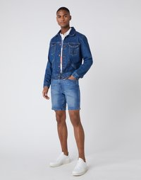 Wrangler - 5 PKT SHORT - Szorty jeansowe - light fever - 1