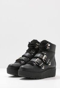 Shoe The Bear - BEX BUCKLE  - Cowboy/biker ankle boot - black - 4