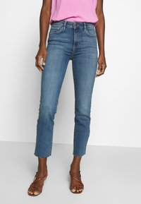 TOM TAILOR - TOM TAILOR KATE SLIM - Slim fit jeans - light stone wash denim - 0