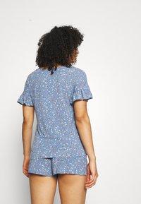 Marks & Spencer London - DITSY SHORTIE - Pyjamas - chambray - 2