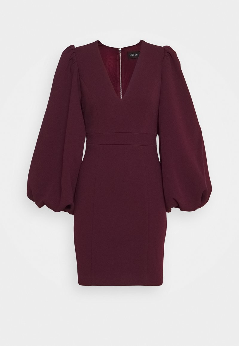 Mossman - SEE YOU AGAIN DRESS - Shift dress - wine