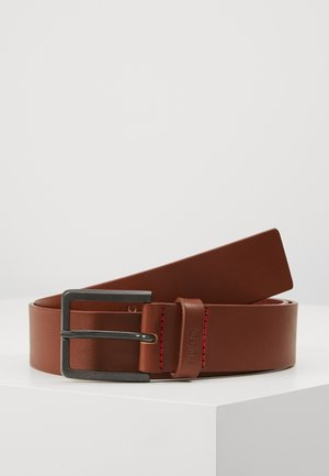 GIONIO - Pásek - medium brown