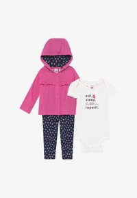 Carter's - OWL BABY SET - Chaqueta de punto - purple - 3