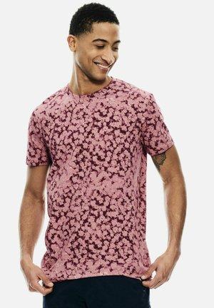 Print T-shirt - mauve mist