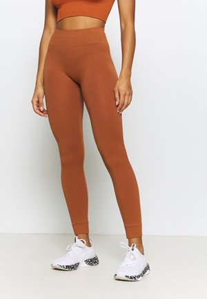 ONPLOUNGE  - Leggings - ginger bread