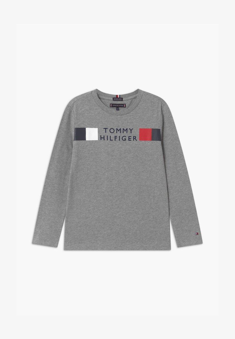 Tommy Hilfiger - GLOBAL STRIPE TEE - Long sleeved top - grey