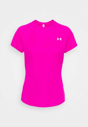 SPEED STRIDE SHORT SLEEVE - Print T-shirt - meteor pink
