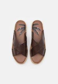Walk London - AMALFI - Mules - swiss brown - 3