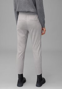 Marc O'Polo - Trousers - middle stone melange - 2