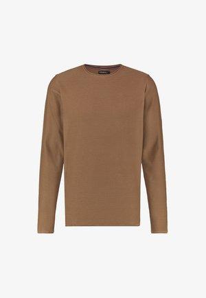 L/SLV COOPER CREW NECK - Sweatshirt - glazed ginger
