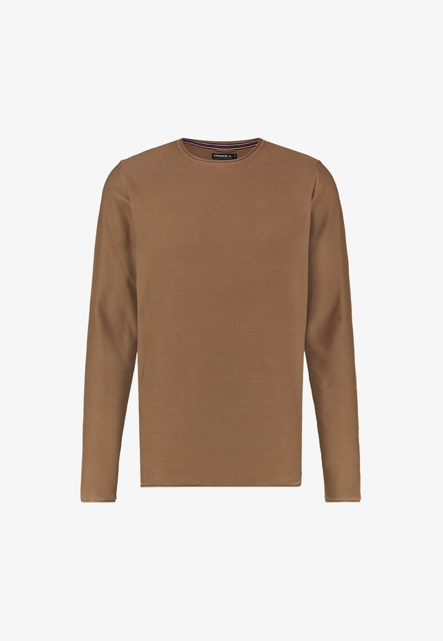 L/SLV COOPER CREW NECK - Sweatshirt - glazed ginger
