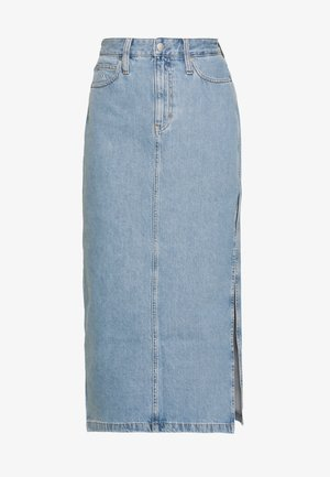 SKIRT - Jeansskjørt - light blue