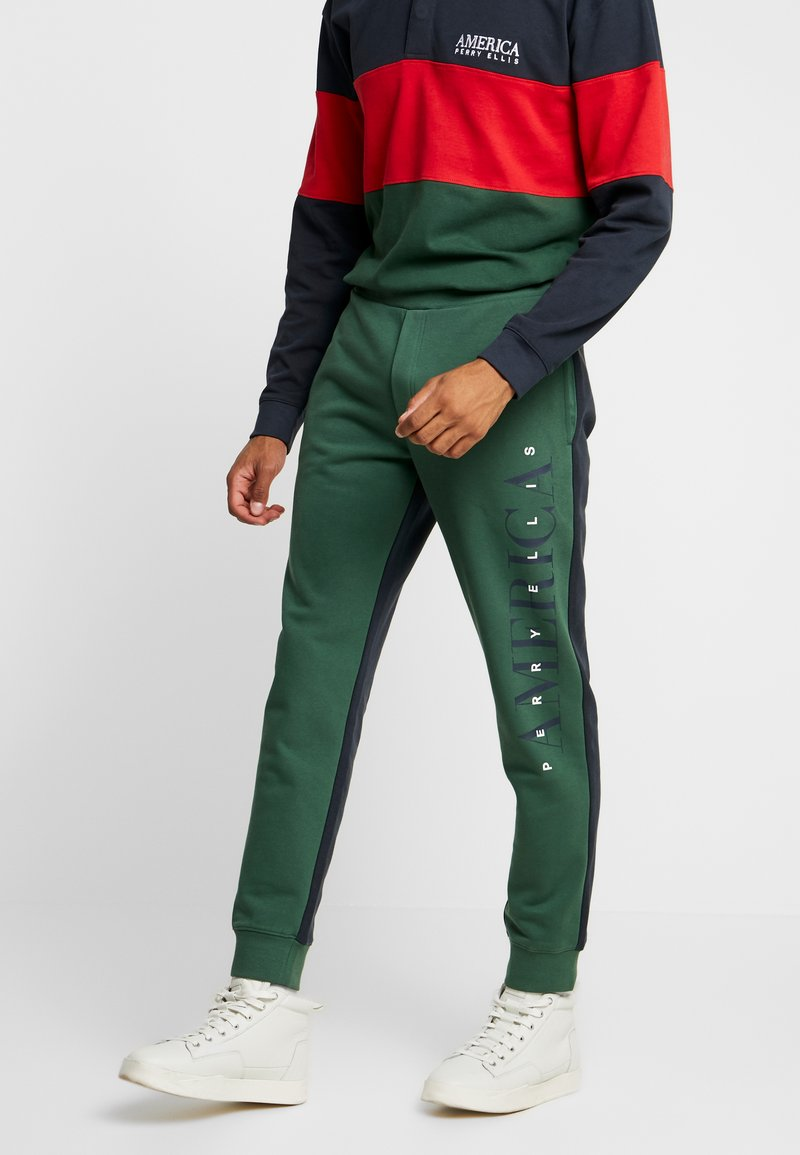 Perry Ellis America - Teplákové kalhoty - pineneedle