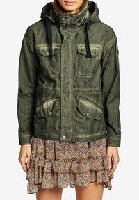 khujo - SHAMA - Summer jacket - olive - 0