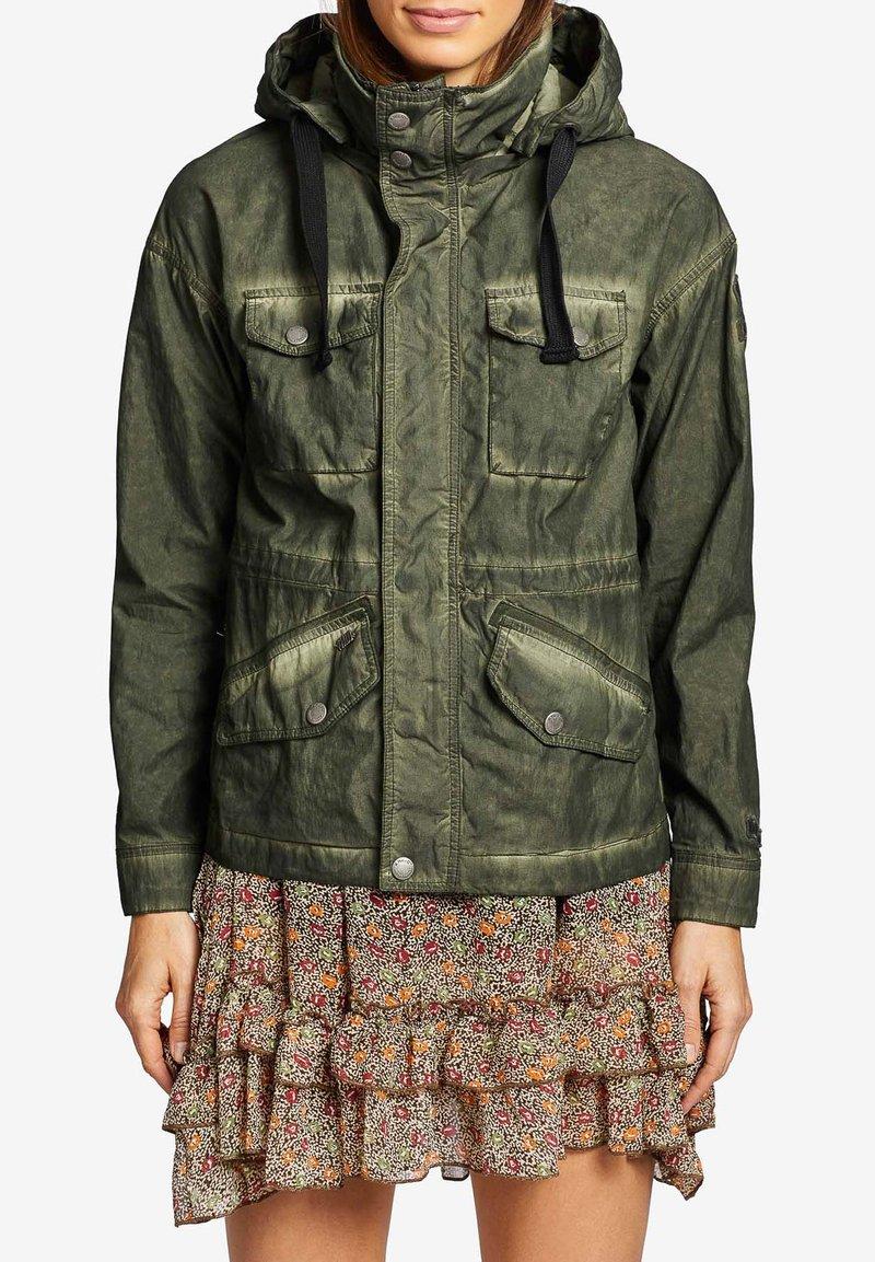khujo - SHAMA - Summer jacket - olive