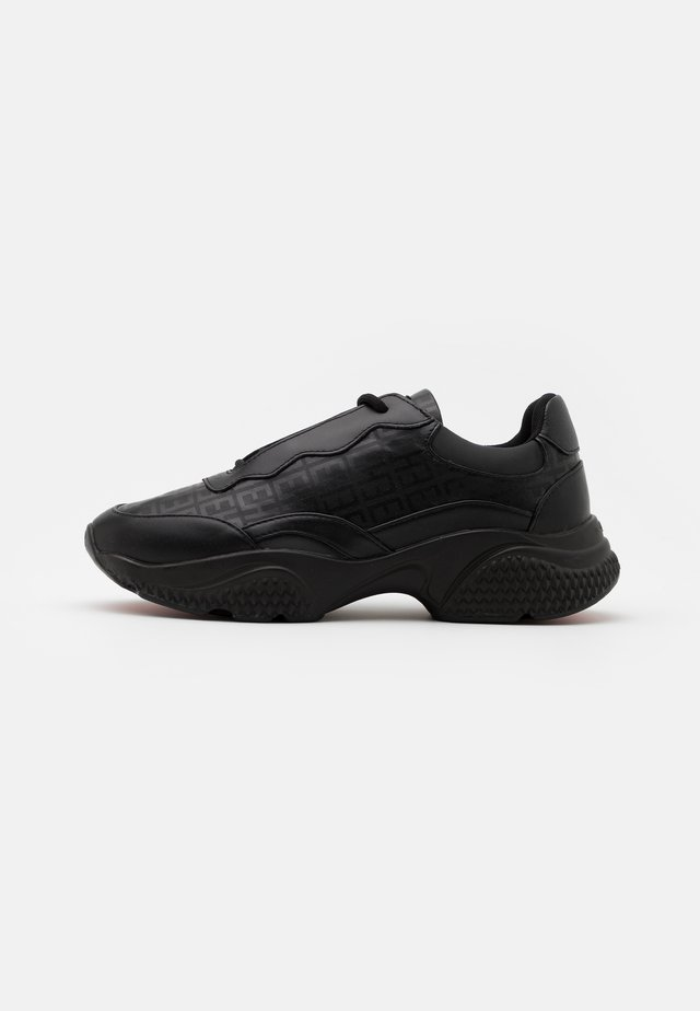 INSERT RUNNER - Trainers - black/charcoal