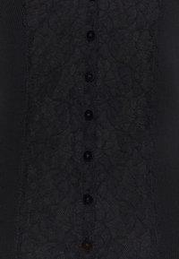 Rosemunde - ORGANIC CARDIGAN - Cardigan - black - 2