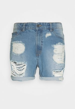 UNISEX - Shorts vaqueros - blue denim
