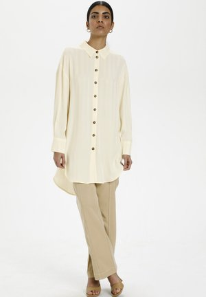 IZZYKB - Shirt dress - egret