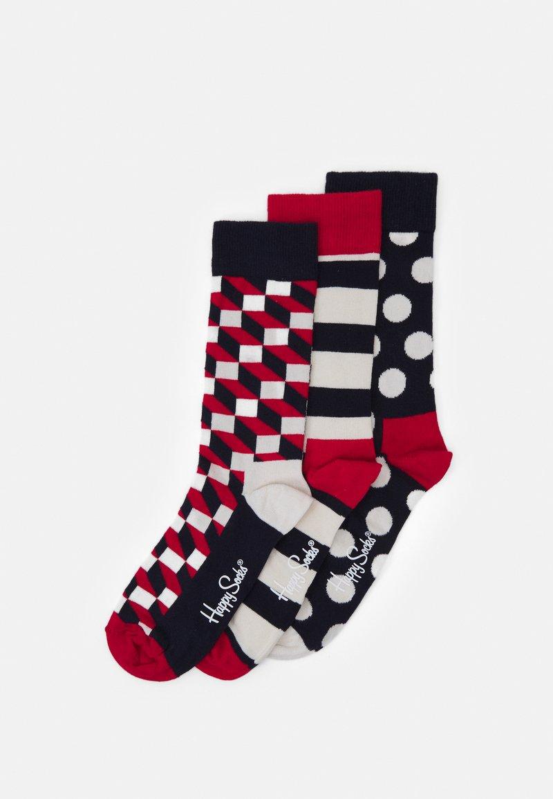 Happy Socks - CLASSIC GIFT 3 PACK - Socks - multi-coloured