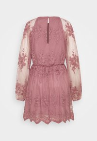 Nly by Nelly - FLORAL DRESS - Cocktail dress / Party dress - dusty pink - 1