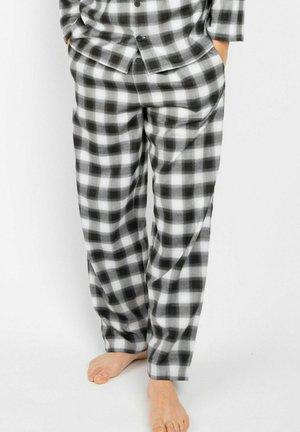WILLIAM - Pantaloni del pigiama - black/teal