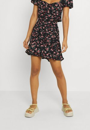 RUCHED SKIRT - Minihame - floral