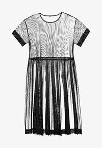 Monki - SILVIA DRESS - Denní šaty - black - 4
