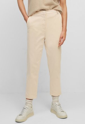 Trousers - blushed camel